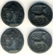 Ancient Coins -   Parthia, Phirapatius to Mithradates I, 180-175 BC AE chalkos, 2.90 gr, 16 mm