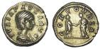 Ancient Coins - Julia Paula, first wife of Elagabalus. AR Denarius