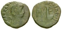 Ancient Coins - Barbarous copy of Arcadius AE 3