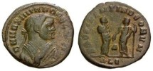 Ancient Coins - VF Maximianus abdication half follis. Scarce in this denomination.