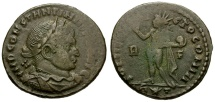 Ancient Coins - Constantine I AE3; Rome mint