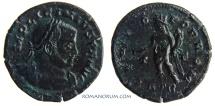 Ancient Coins - LICINIUS. (AD 308-324) Follis, 3.42g.  Trier. GENIO POP ROM