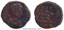 Ancient Coins - THEODOSIUS I. (AD 378-395) AE3, 1.41g.  Antioch. VOT X MVLT XX