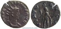 Ancient Coins - GALLIENUS. (AD 253-268) Antoninianus, 2.90g.  Rome. VIRTVS AVGG Scarce Mars left.