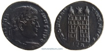 Ancient Coins - CONSTANTINE I, The Great. (306-337 A.D.) AE3, 3.24g.  Trier. PROVIDENTIAE AVGG