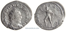 Ancient Coins - VALERIAN. (AD 253-260) Antoninianus, 3.06g.  Cologne. ORIENS AVGG