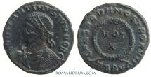 Ancient Coins - CONSTANTINE II. (337-340 A.D.) AE3, 2.25g.  Thessalonica. CAESARVM NOSTRORVM