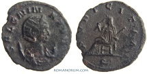 Ancient Coins - SALONINA. (Wife of Gallienus) Antoninianus, 3.20g.  Rome. PVDICITIA AVG scarcer mint-mark