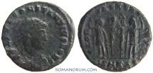 Ancient Coins - CONSTANTIUS II. (AD 337-361) AE3, 2.41g.  Cyzicus. GLORIA EXERCITVS