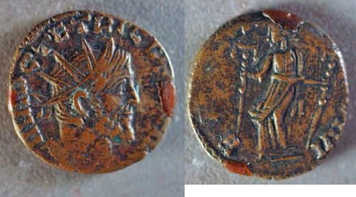 Tetricus I Bronze Antoninianus