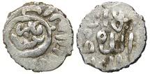 World Coins - ISLAMIC, Burji Mamluks, al-Ashraf Qa'itbay, AH 873-901/ AD 1468-1496, AR Dirham, Halab Type, Turcoman Kufic.