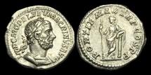 Ancient Coins - PE-UKBP - MACRINUS - AR Denarius, ca.217AD.         NICE EXAMPLE