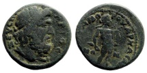 Ancient Coins - Lydia, Saitta. Time of Commodus, 177-192 AD. AE 23mm (9.17 gm). AMC Coin ID #11879
