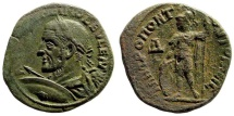 Ancient Coins - Moesia Inferior, Tomis. Maximinus Thrax, 235-238 AD. AE 26mm - 4 Assarion (9.40 gm). AMNG 3312