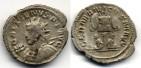 Ancient Coins - GALLIENUS, Antoninian - German captives