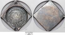 World Coins - Poland. Piast Dynasty Silesian Evangelic States. Scarce City of Glogow Siege issue AR 3 Taler 1621. NGC VF30
