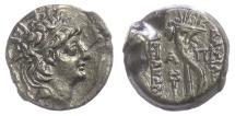 Ancient Coins - SELEUKID KINGS, Alexander II Zabinas. AE denomination B, circa 125-122 BC