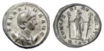 Ancient Coins - SEVERINA. Antoninianus, Ticinum mint, AD 275. Concordia