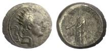 Ancient Coins - SELEUKID KINGS, Antiochos IV Epiphanes. AE denomination B, Laodikea. 175-164 BC