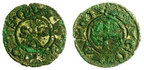 Italy, Ancona Billon Denaro, 13th - 14th Centuries AD