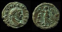 Ancient Coins - Maximianus, AE tetradrachm of Alexandria. Year 6. 19 mm, (6.6 g), EF!