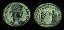 Ancient Coins - CONSTANTIUS II, 337-361 AD. Victoriae. Thessalonica Mint