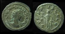Ancient Coins - MACRIANUS Usurper, 260-261 AD. AR Antoninianus, Antioch, 21mm, Very Rare!