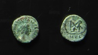 Ancient Coins - Marcian, AE 13mm, Nicomedia, 450-457 AD. Nicomedia mint, Rare!