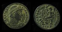 Ancient Coins - CONSTANTINE The GREAT. AE FOLLIS. Constantinopolis Mint. CONSTANTINIANA DAFNE