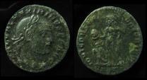 Ancient Coins - MAXIMINUS II AE Follis. 311 AD. Cyzicus Mint,  24mm (6.3g) By Jove...