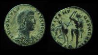 Ancient Coins - CONSTANTIUS II, 337-361 AD. FEL TEMP REPARATIO. Alexandria Mint.