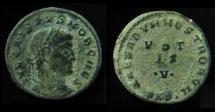 Ancient Coins - CRISPUS, 316-317 AD. Scarce VOTIS .V.  Reverse