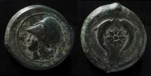 Ancient Coins - Sicily, Syracuse. Dionysios I (Circa 405-367 BC). AE 33 mm, Drachm.