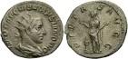 Ancient Coins - Volusian, AR Antoninianus, 251-253, Rome - RIC IV, Part III, 182 (Trebonianus Gallus)
