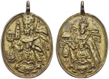 World Coins - KLOSTERNEUBURG ABBEY, Gilt Silver Medal