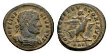 Ancient Coins - Licinius I 308-324, AE Follis (18mm, 3.09 g) Arelate AD 319