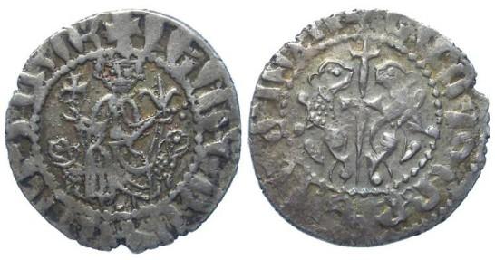 Armenia, Levon I, AD 1198 to 1218. Silver Tram.