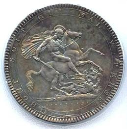 World Coins - 1819 Great Britain Crown ACG MS63