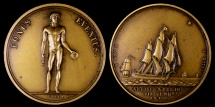 World Coins - 1799 France - Napoleon - Arrival at Frejus by Andre Galle and Dominique-Vivant Denon