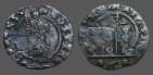 Ancient Coins - Venice, Italy Billon 18mm Bezzo of Doge Marcantonio Giustinian.