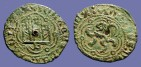 Ancient Coins - Enrique III billon 23mm blanca (2 Cornados)