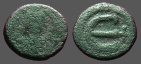 Ancient Coins - Anastasius I AE13 Pentanummium.  E w. cross to rt.  Constantinople