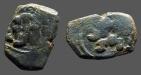 Ancient Coins - Philip IV AE16 (2) Maravedis.  Castle / Lion. oblong flan!