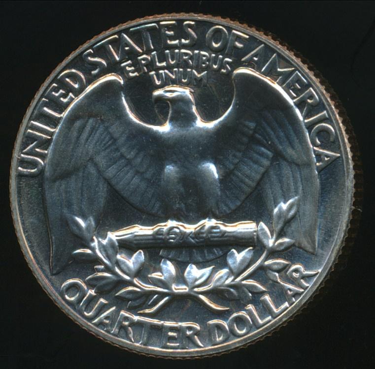 United States, 1970-S Quarter Dollar, Washington