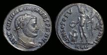 Ancient Coins - MAXIMIANUS I, AD 286-310. Æ Follis (10.84g) issued by Domitianus.