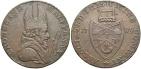 Ancient Coins - Ireland, Wicklow, Cronebane, Halfpenny Token 1789, D&H9