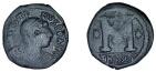 Ancient Coins - SALE Byzantine Justin I 518-27 AD AE Follis of Thessalonica SB 78, same dies