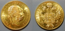 World Coins - 1915 gold Ducat, Austria, restrike - brilliant uncirculated