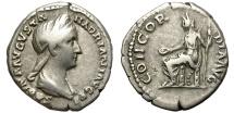 Ancient Coins - SABINA. AR DENARIUS. AD 28-137.  GOOD GENERAL CONDITION.