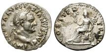 Ancient Coins - VESPASIAN 69-79 AD. SILVER DENARIUS. NICE BUST.